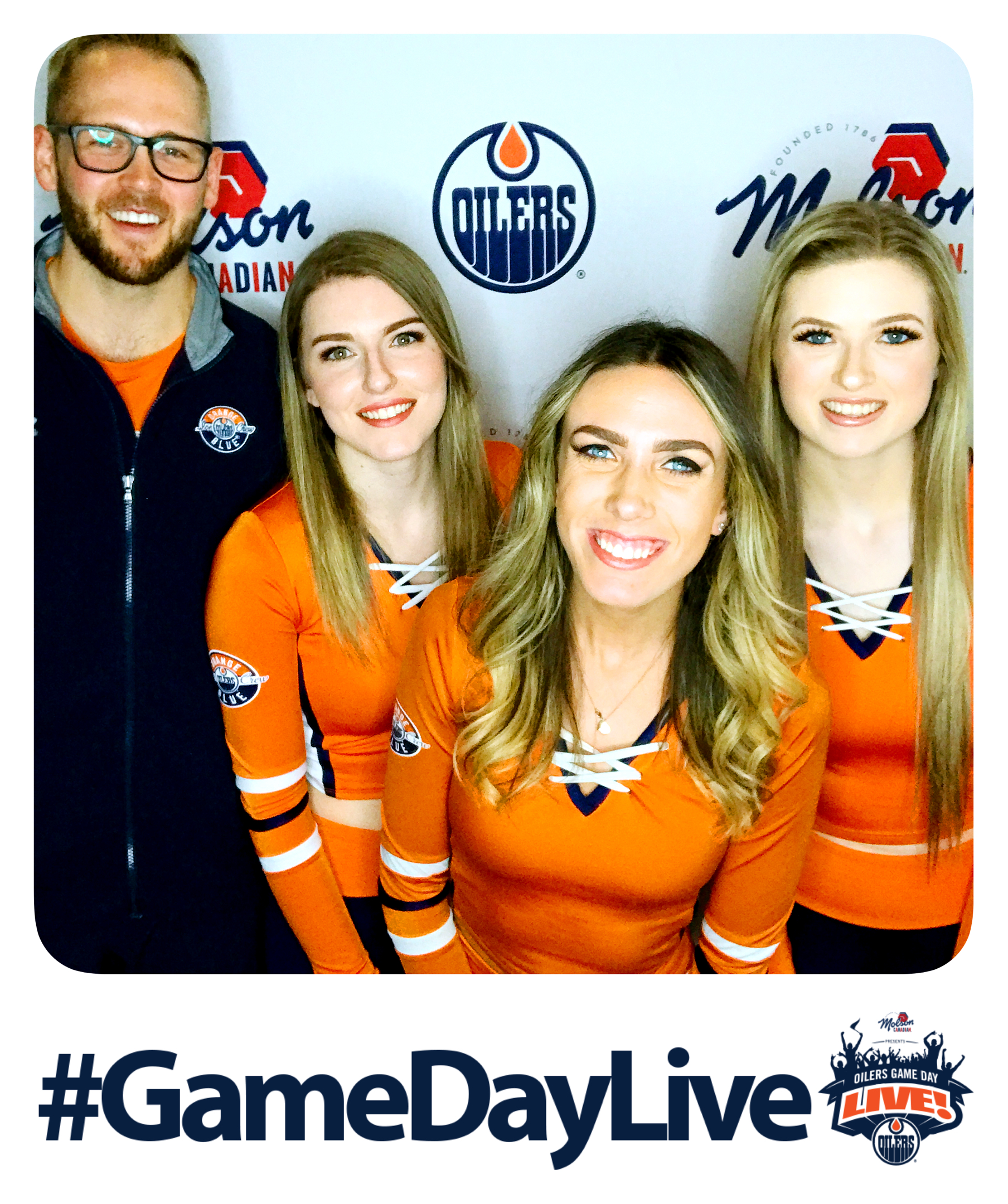 Molson Canadian Oilers Game Day Live